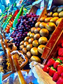 Close runner up - look at that fruit! Mercado de San Miguel, Madrid.