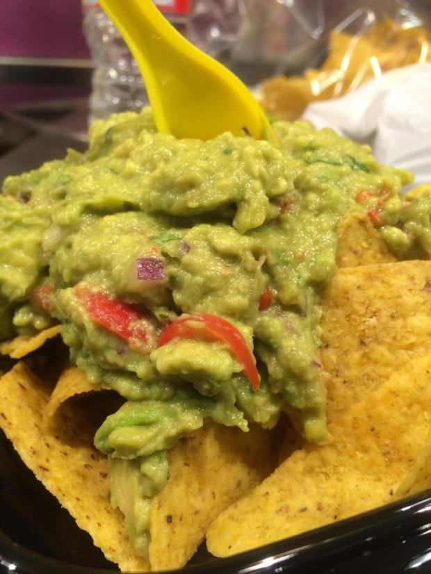 This is definitely not Chipotle's guacamole...This market also had the world's biggest grapes and sweetest mangoes.