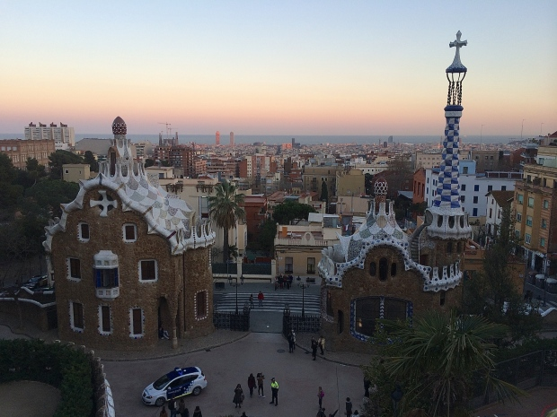 Park Güell not only had the prettiest view of my entire trip, it also had such a variety sculptures, buildings, and greenery. Great place to explore for a few hours. Also, I think the building on the left looks like a gingerbread house personally.
