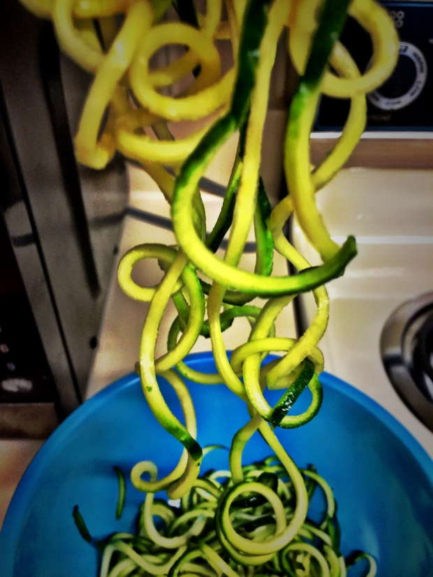 Just playing around with my new spiralizer.