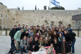 Bus 262 at the Kotel