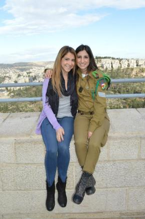 Yad Vashem with my favorite badass Israeli soldier